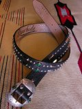 "RAWHIDE STUDDED & JEWELED BELT LOT-213/ 1-1/2""[38MM]"