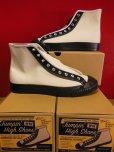 画像2: Attractions WEARMASTERS Lot.408 Jumpin' High Shoes/White-Black (2)