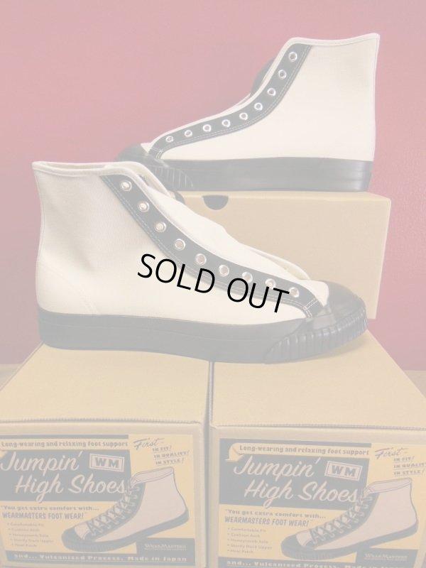 画像2: Attractions WEARMASTERS Lot.408 Jumpin' High Shoes/White-Black