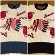 画像9: The Groovin High 2018 A/W 1950's Style Vintage cotton knit Indian native/lot.A153