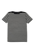 Attractions Lot.555 GUYBO BORDER TEE/ BLK