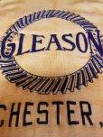 画像5: 1940'S DURACRAFT GLEASON FLOCK PRINTED TWO TONE RAYON JERSEY