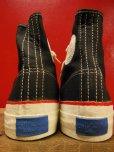 画像4: 1950'S~NOS w/BOX US KEDS BIG LEAGUER BAL BLACK CANVAS SHOES/5-1/2