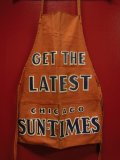 1940'S CHICAGO SUN-TIMES ADVERTISING DUCK APRON