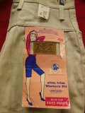 "1960'S DEASTOCK MAVERICK SLIM CUT KNEE PANTS SZ/18(30-1/2"")ベージュ"