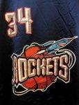 画像2: 90S US古着 大きめサイズ ビンテージ チャンピオン NBA タンクトップ 34ヒューストンロケッツ OLAJUWON/ (2)