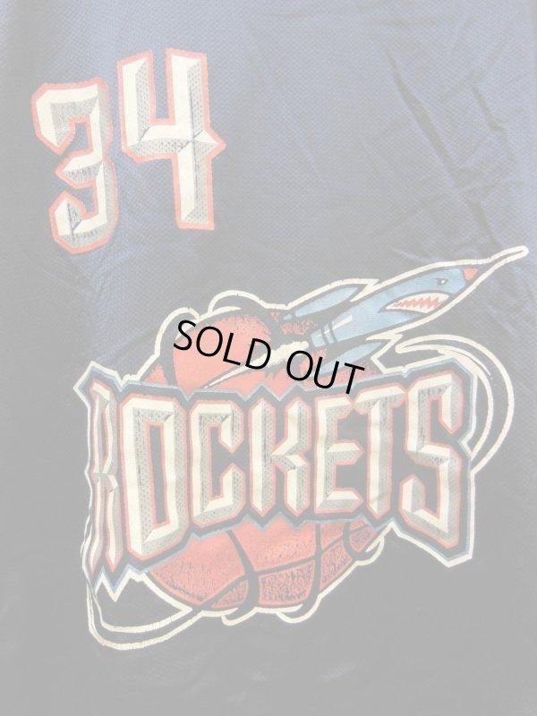 画像2: 90S US古着 大きめサイズ ビンテージ チャンピオン NBA タンクトップ 34ヒューストンロケッツ OLAJUWON/