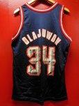 画像4: 90S US古着 大きめサイズ ビンテージ チャンピオン NBA タンクトップ 34ヒューストンロケッツ OLAJUWON/