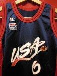 画像2: 90S US古着 ビンテージ チャンピオン米国製 NBA タンクトップ 6ハーダウェイ1996アトランタ/14-16 (2)