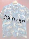 60S 米国ハワイ製 ビンテージ Mr, Kailua コットン ハワイアン アロハシャツ/M