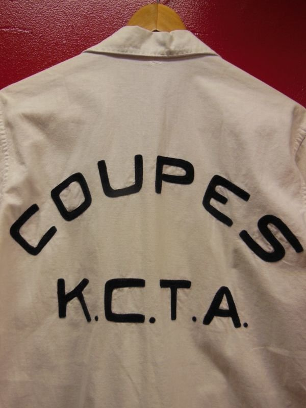 画像2: 1950'S KANSAS CITY COUPES K.C.T.A EMBROIDERED HOTROD CAR CLUB SHIRT SZ/M