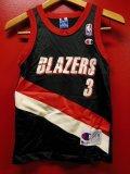 90S US古着 ビンテージ チャンピオンMEXICO製 NBA タンクトップ 3 スタウダマイヤー BLAZERS/8子供用