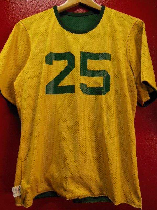 画像2: 80S US古着 ビンテージ チャンピオン 両面 ナンバリング ナイロン ジャージ ゲームシャツ Mサイズ