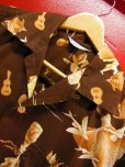 画像4: 1950'S KILOHANA ALOHA HAWAII PRINTED COTTON HAWAIIAN SHIRT SZ/L