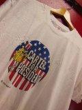 1970'S デッドストック ビンテージ 1976 CARTER FOR PRESIDENT カーター大統領選挙キャンペーン Tシャツ/XL