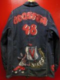 "1940'S BERTEL WWII MODEL ""BOOSTERS""HAND PAINTED COVERALL"