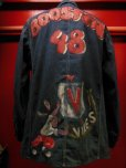 "画像13: 1940'S BERTEL WWII MODEL ""BOOSTERS""HAND PAINTED COVERALL (13)"