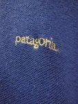 画像4: 90S オールド ビンテージ PATAGONIA パタゴニア半袖ポロシャツ/濃いブルー/メンズL