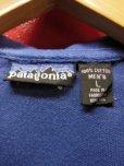 画像3: 90S オールド ビンテージ PATAGONIA パタゴニア半袖ポロシャツ/濃いブルー/メンズL