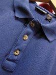 画像5: 90S オールド ビンテージ PATAGONIA パタゴニア半袖ポロシャツ/濃いブルー/メンズL
