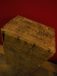 """H.D.LEE COMPANY """"SUMMER GIRL"""" WOODEN CRATE BOX"""