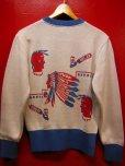 画像6: The Groovin High 2018 A/W 1950's Style Vintage cotton knit Indian native/lot.A153