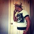 """画像3: The GROOVIN HIGH A199 Vintage Style Short Summer Knit """"Anchor"""" Green/Brown"""