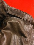 画像7: 1950'S CALIFORNIAN GOATSKIN A-2 TYPE BOMBER JACKET SZ/38-40