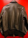 画像4: 1950'S CALIFORNIAN GOATSKIN A-2 TYPE BOMBER JACKET SZ/38-40