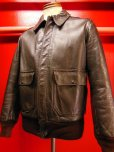 画像14: 1950'S CALIFORNIAN GOATSKIN A-2 TYPE BOMBER JACKET SZ/38-40
