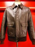 画像13: 1950'S CALIFORNIAN GOATSKIN A-2 TYPE BOMBER JACKET SZ/38-40
