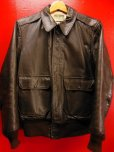 画像1: 1950'S CALIFORNIAN GOATSKIN A-2 TYPE BOMBER JACKET SZ/38-40 (1)