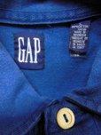 画像3: 90S00S US古着オールド ビンテージ 旧タグ GAPボーダーラグビーシャツラガーシャツ/L