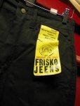 画像1: 1970'S DEADSTOCK LEE FRISKO JEENS BLACK SZ 30X30/フリスコ ヴィンテージ デッドストック (1)