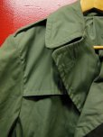画像3: 1976'S DEADSTOCK RAINCOAT, MAN'S, COTTON AND POLYESTER, QUARPEL, ARMY GREEN 274/SZ-34S