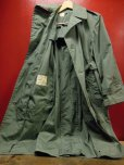 画像11: 1976'S DEADSTOCK RAINCOAT, MAN'S, COTTON AND POLYESTER, QUARPEL, ARMY GREEN 274/SZ-34S