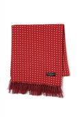 "画像1: Attractions  WEARMASTERS SCARF ""Dot"" Wine Red (1)"