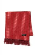"Attractions  WEARMASTERS SCARF ""Dot"" Wine Red"