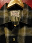 画像3: 1950'S CRANBROOK BLACK BASE ACRYLIC WOOL BOX SHIRT SZ/MEDIUM
