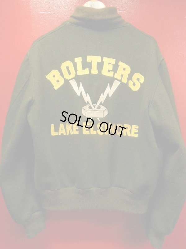 画像1: 2019年初売りアイテム/1960'S BOLTERS CAR CLUB WOOL JACKET SZ/M