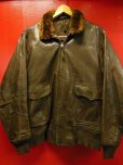 画像1: 1943'S WWII WILLIS AND GEIGER INC, M422A GOATSKIN FLYING JACKET SZ/38 (1)
