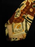 画像5: 1940'S〜 ARCO MEXICAN HAT & GUITER PRINTED RAYON SATEN WIDE TIE
