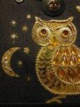 画像5: 1960'S ENID COLLINS STYLE OWL JEWELED BAG/BLACK