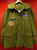 1962'S USAF FIELD JACKET/ MAN'S, COTTON, WIND RESISTANT, SATEEN, OG 107/MED REG