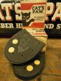 NOS CAT'S PAW RUBBER HEELS/TWIN GRIP WASDHER HALF/11-12/NEUT/箱入デッドストック キャッツポゥ ラバーヒール