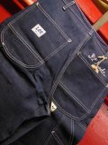 1970'S DEADSTOCK LEE DUNGAREES LOT050-3341 32X29