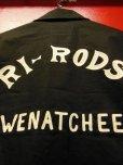 画像6: The Groovin High Vintage Style Car Club RI-RODS Jacket Black