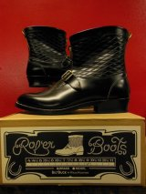 Attractions BILTBUCK Lot.300 Roper Boots Emboss/Black/ローパーブーツ/9D[27.0cm]
