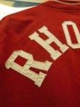 画像9: 1940'S BURLINGTON BUTTON FRONT RED ARMY CLOTH JACKET/SIZE/40