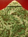画像4: 1950'S MARK TWAIN WOLF HEADS PRINTED FLANNEL SHIRT JAC SZ/M
